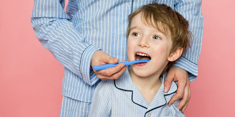 Brushing your child's teeth Curaprox World